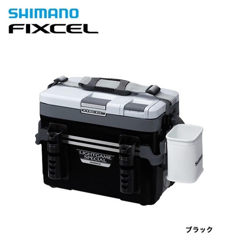 【シマノ】フィクセル ライトゲームスペシャル120 LF-L12N ブラッククーラーボックス シマノ 小型 12L 釣り フィッシング クーラー クーラー