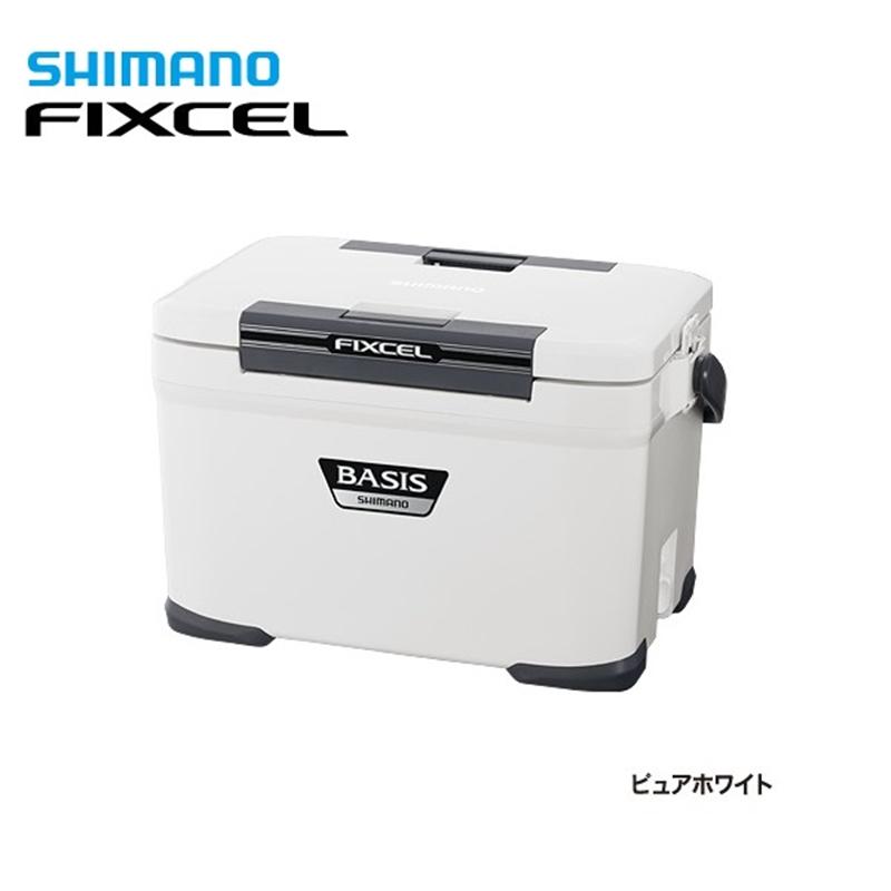 【シマノ】フィクセル ベイシス220 UF-022N ピュアホワイトクーラーボックス シマノ 22L 釣り フィッシング クーラー クーラー