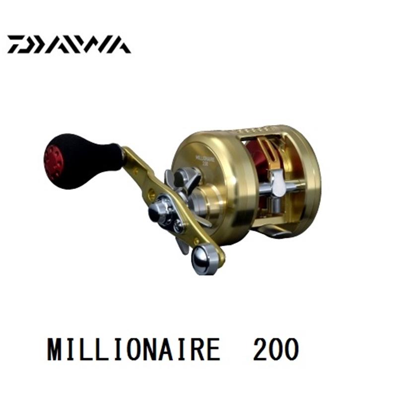 【ダイワ】ミリオネア 200 (右巻き)ダイワ リール DAIWA ダイワ 釣り フィッシング 釣具 釣り用品