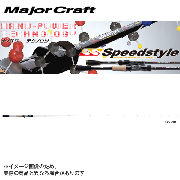 【メジャークラフト】スピードスタイル SSC-682MHバス ロッド メジャークラフト