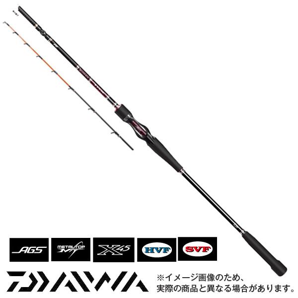 【ダイワ】紅牙 AGS K67XHB-METAL [大型便]鯛ラバ 一つテンヤ ロッド