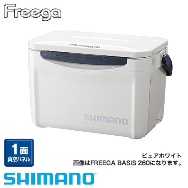 【シマノ】フリーガ ベイシス 200 UZ-020N ピュアホワイトクーラーボックス シマノ 20L 釣り フィッシング クーラー クーラー