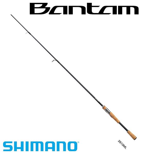 エントリーで全品ポイント+8倍!最大41倍*【シマノ】バンタム 2610ML [大型便] SHIMANO シマノ 釣り フィッシング 釣具 釣り用品