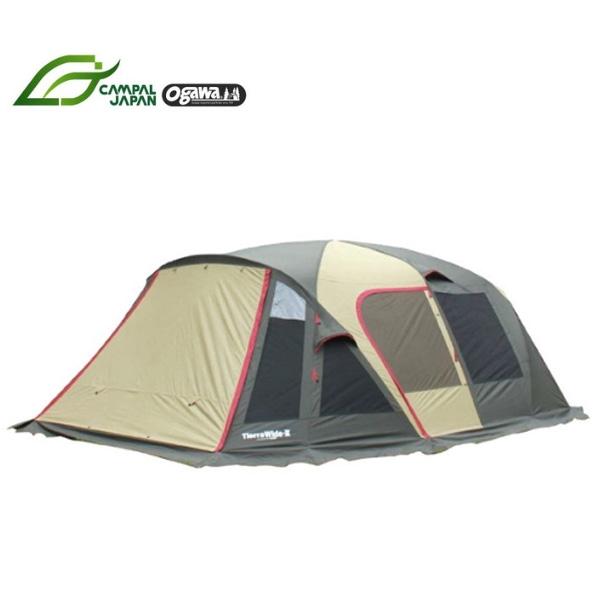 ティエラワイドII 6~7人用 [大型便](2778)テント ツールームテント 小川キャンパル ツールームテント キャンプ