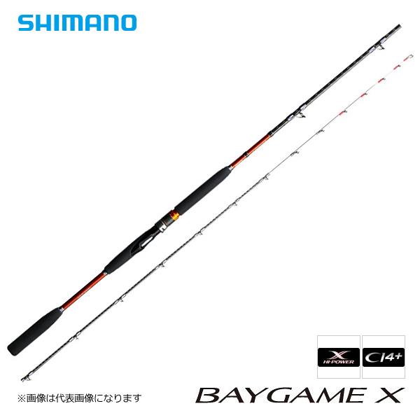 【シマノ】16 ベイゲームX ヒラメ MH270