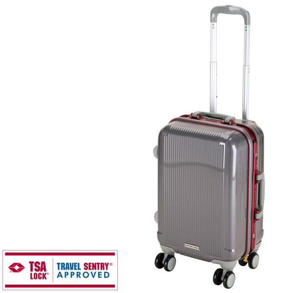 【キャプテンスタッグ】グレル トラベルスーツケース TSAロック付HFタイプ S スチールグレー(UV-9) キャプテンスタッグ CAPTAIN STAG キャンプ用品 アウトドア用品