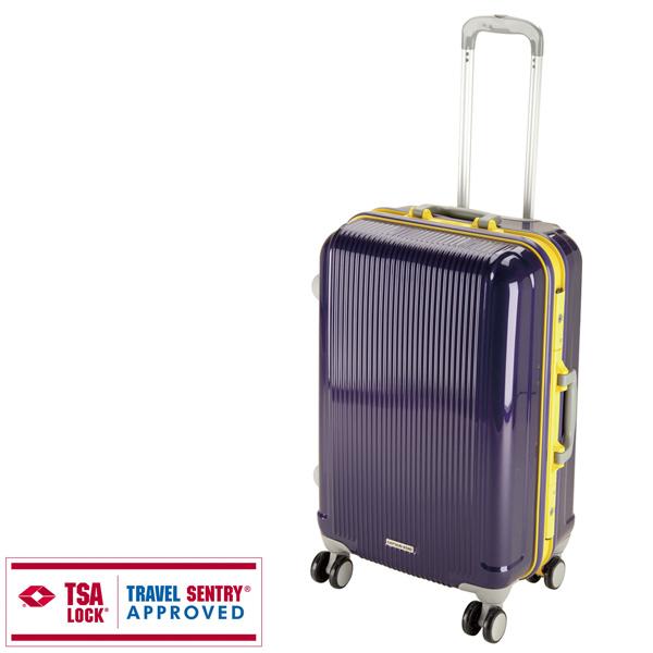 【キャプテンスタッグ】グレル トラベルスーツケース TSAロック付HFタイプ M ウルトラマリン(UV-17)