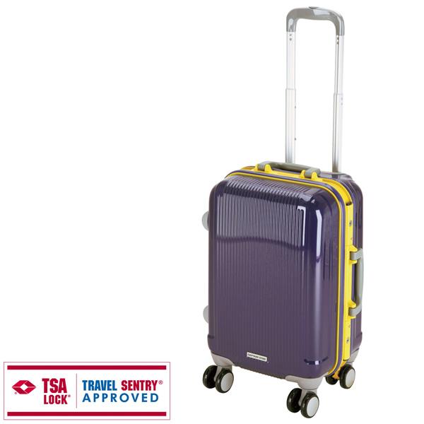 【キャプテンスタッグ】グレル トラベルスーツケース TSAロック付HFタイプ S ウルトラマリン(UV-18) キャプテンスタッグ CAPTAIN STAG キャンプ用品 アウトドア用品