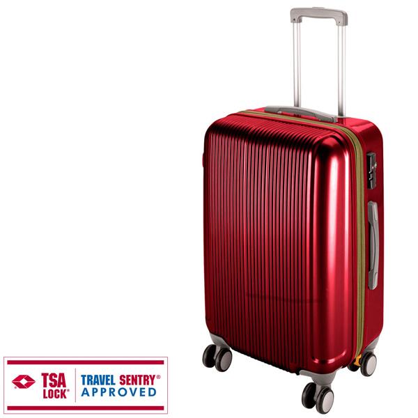 【キャプテンスタッグ】グレル トラベルスーツケース TSAロック付WFタイプ L ワインレッド(UV-25) キャプテンスタッグ CAPTAIN STAG キャンプ用品 アウトドア用品