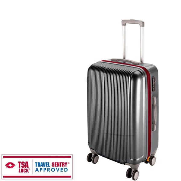 【キャプテンスタッグ】グレル トラベルスーツケース TSAロック付WFタイプ M スチールグレー(UV-29) キャプテンスタッグ CAPTAIN STAG キャンプ用品 アウトドア用品