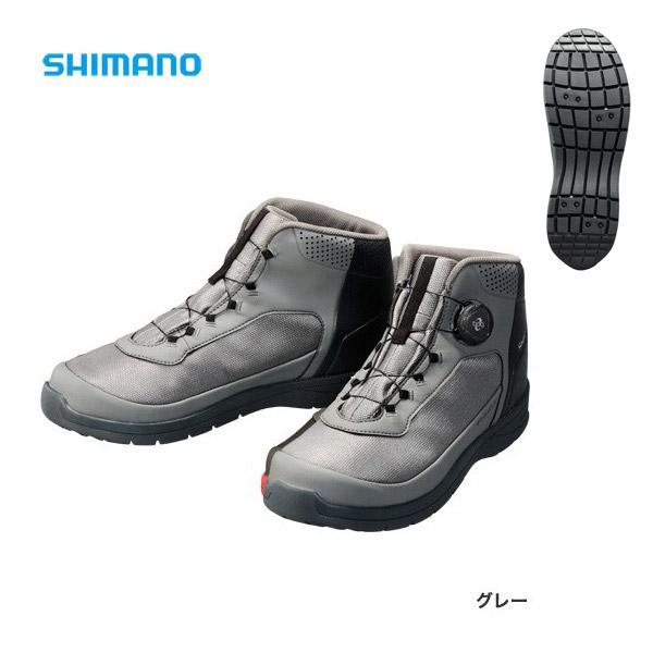 【シマノ】ドライシールド デッキラジアルフィットシューズHW [ FS-082P ] グレー 27.0cm
