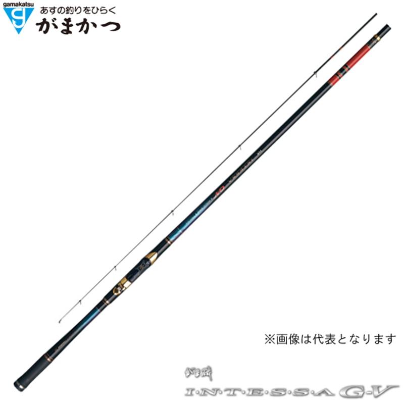【がまかつ】がま磯 インテッサG-5 2号 5.0M
