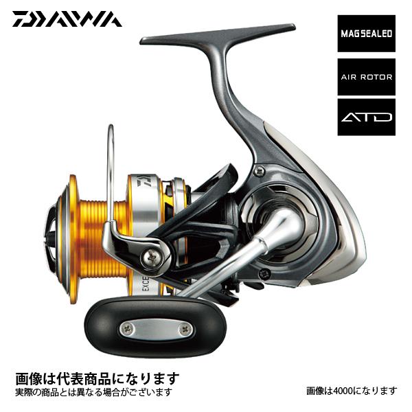 【ダイワ】17エクセラー [ EXCELER ] 4000ダイワ スピニングリール DAIWA ダイワ 釣り フィッシング 釣具 釣り用品