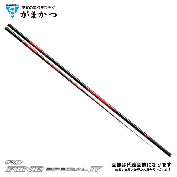 【がまかつ】がま鮎 ファインスペシャル4 黒 H 8.1M
