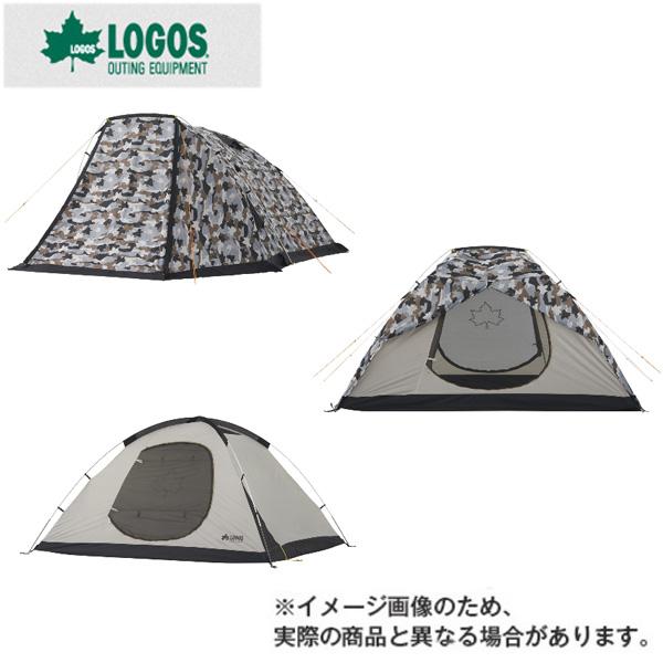 ベーシックドーム・PLR XL(カモフラ)(71805026)テント ロゴス テント キャンプ