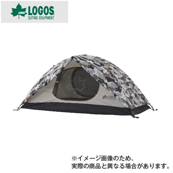 【ロゴス】SOLOドーム(カモフラ)(71806007)テント ロゴス テント ツーリング 登山