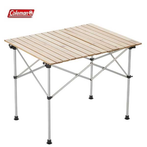 スペシャルセール!*【コールマン】ナチュラルウッドロールテーブル90(2000031290)アウトドアテーブル キャンプテーブル コールマン テーブル