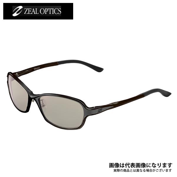 【ジール】ZEAL DORIO F-1670 LS ブラック/グレー