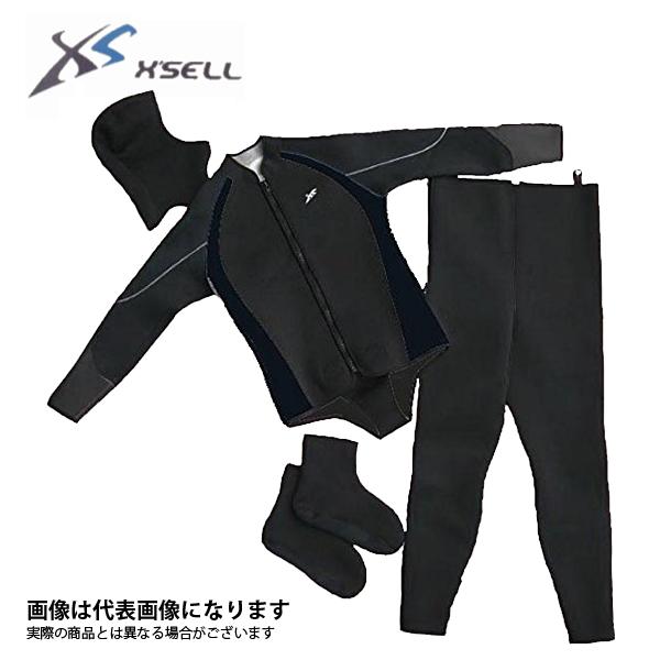 【エクセル】ウェットスーツ 4点セット LF-508 L