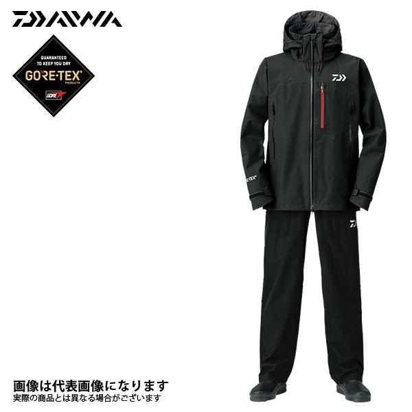 DR-1908 プロバイザーゴアテックス プロダクト パックライトレインスーツ ブラック M ダイワ 2018新製品レインウェアレインウェア 雨具