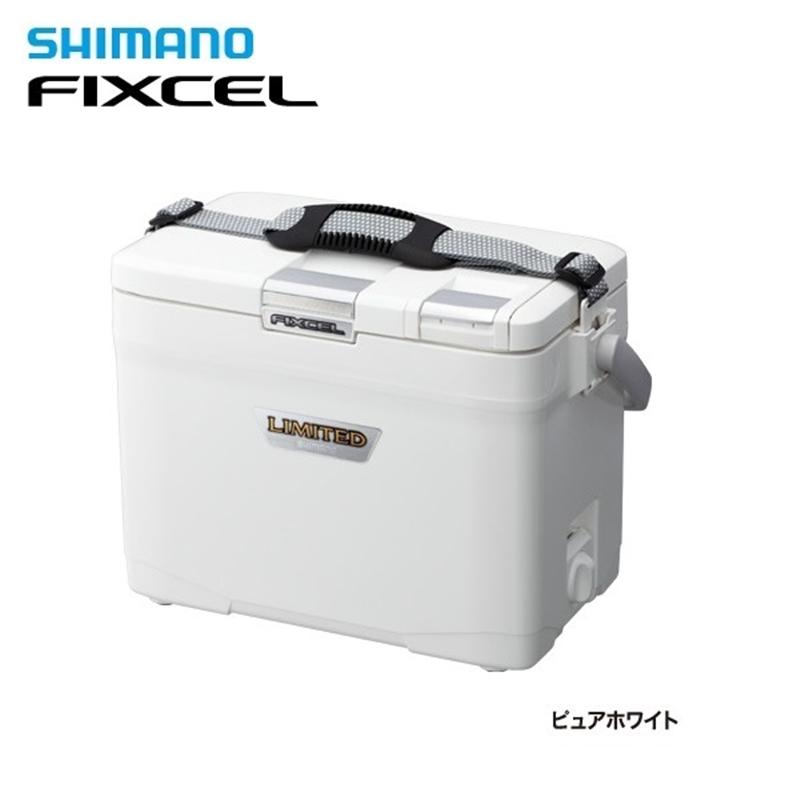 フィクセル リミテッド120 HF-012N ピュアホワイト シマノ クーラーボックス 小型 12L 釣り クーラー
