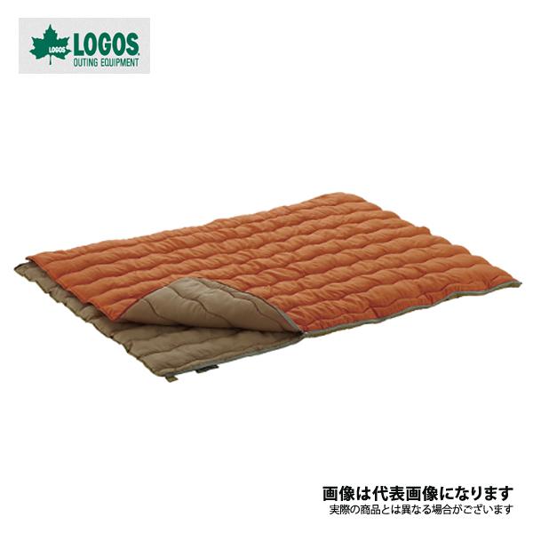 【ロゴス】2in1・Wサイズ丸洗い寝袋・2(72600680)寝袋 シュラフ 封筒型シュラフ ロゴス シュラフ