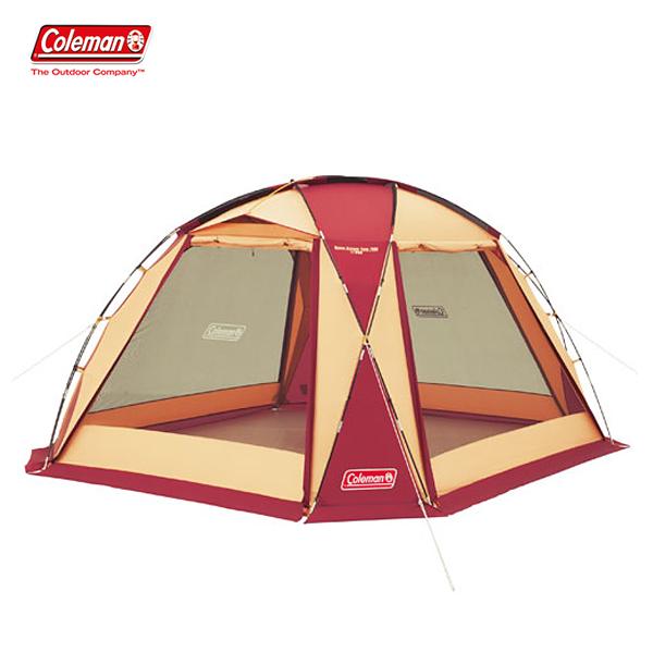 スペシャルセール! ドームスクリーンタープ/380(バーガンディ) 2000027291 コールマン タープ キャンプ