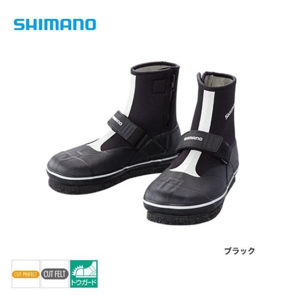 カットピンフエルトタビ(中割)[TA-073Q]ブラック L シマノ