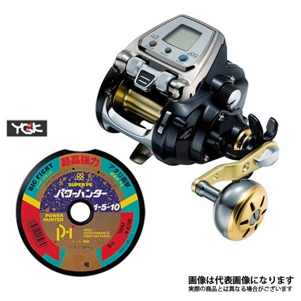 15 レオブリッツ 500J PE4号×500m リールに巻いて発送 ダイワ 電動リール ライン付き セット