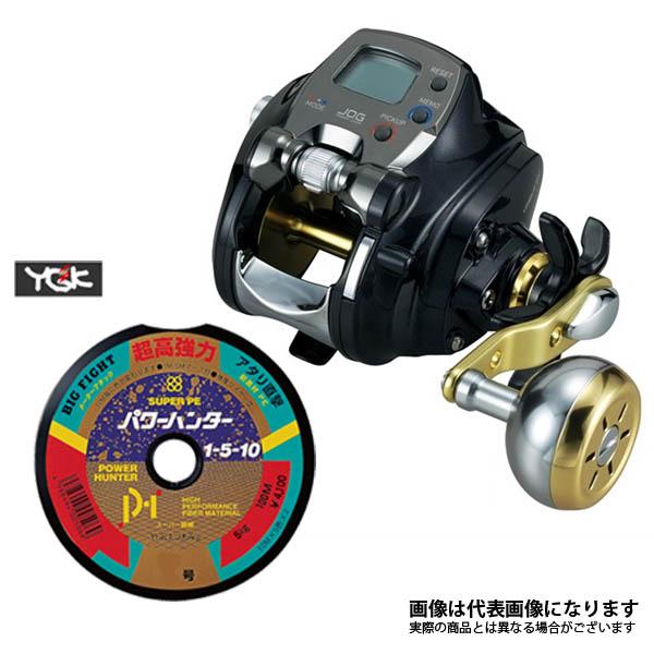 15 レオブリッツ 300J PE4号×300m リールに巻いて発送 ダイワ 電動リール ライン付き セット