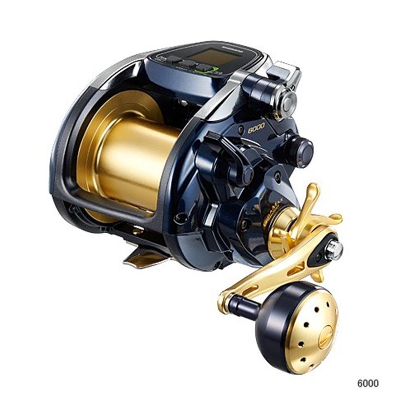 ビーストマスター 6000 PE6号×700m リールに巻いて発送 シマノ 電動リール ライン付き セット