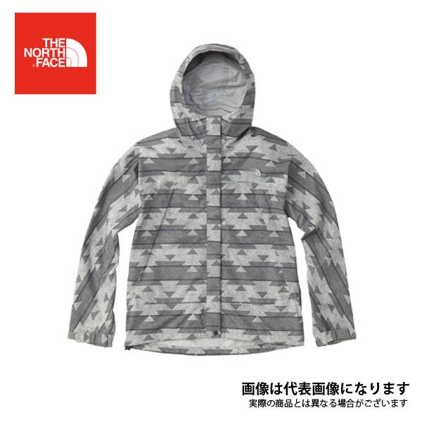 ノベルティードットショットジャケット(レディース) ネイティブグレー L NPW61535 ノースフェイス 【処分特価】