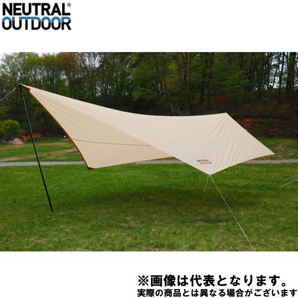 NT-TA02 GEタープ6m 35352 ニュートラルアウトドア キャンプ アウトドア 用品 テント タープ