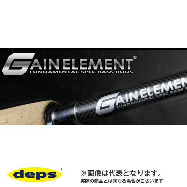 ゲインエレメント [ GAIN ELEMENT ] GE-68MHR カバーゲームエレメント : デプス 大型便 バスロッド 竿 ブラックバス