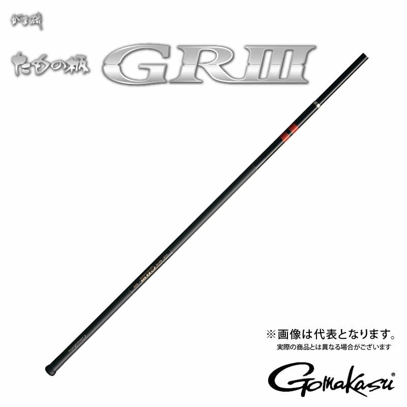 がま磯 タモノ柄 GR3 5.0m