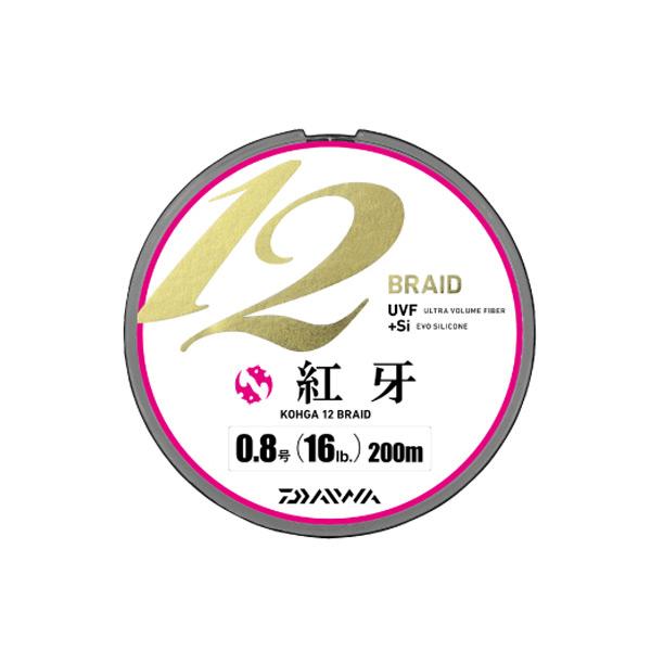 【特価ライン】 紅牙12ブレイド 200m 1.0号 ダイワ PEライン 1号