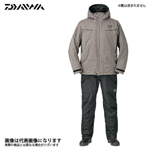 DW-3207 レインマックス エクストラハイロフト ウィンタースーツ グレー XL DW-3207 ダイワ 釣り 防寒着 上下セット 防寒 【処分特価】
