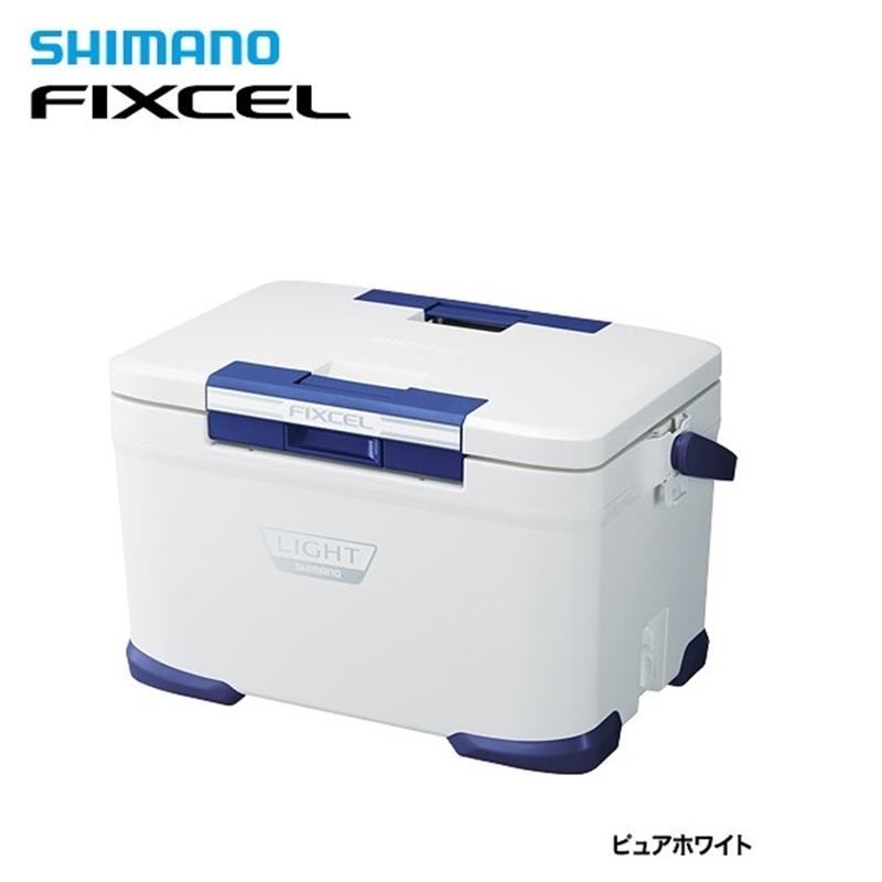 フィクセル ライト300 LF-030N ピュアホワイト シマノ クーラーボックス 30L 釣り クーラー 【処分特価】