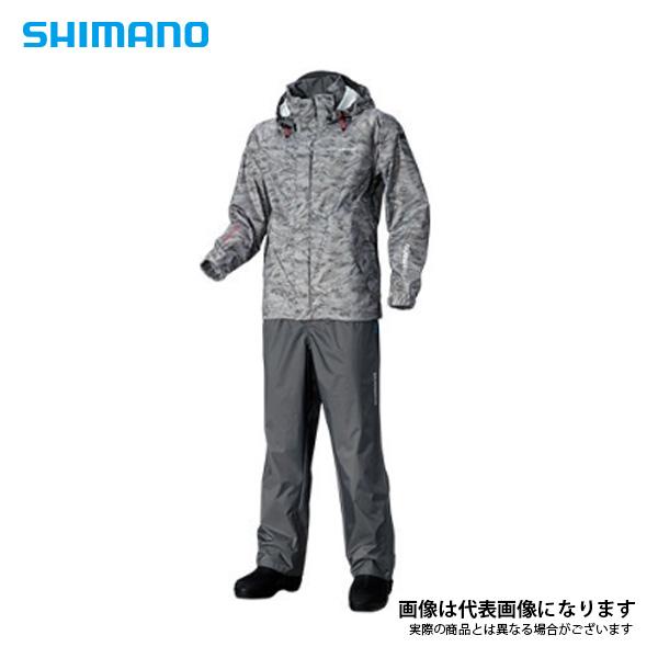 DSベーシックスーツ RA-027Q グレーパシフィックカモ L シマノ