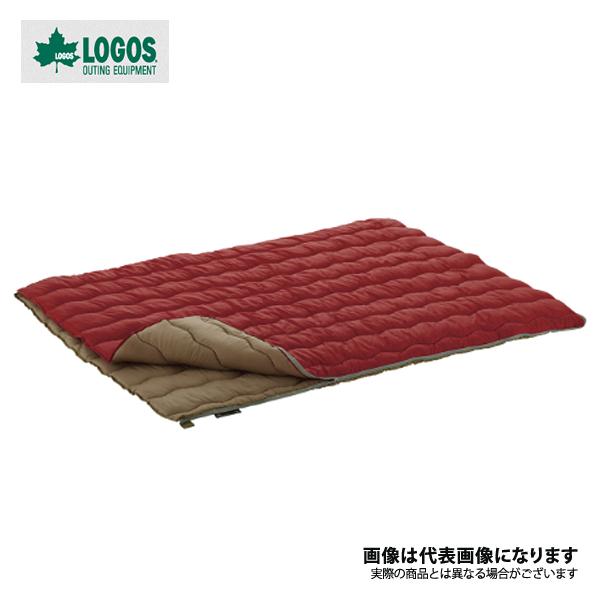 2in1・Wサイズ丸洗い寝袋・0 72600690 ロゴス シュラフ 寝袋 封筒型 キャンプ アウトドア 用品