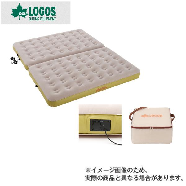 楽ちんオートキャンプベッド270(10mロングコード) 73853050 ロゴス マット ベッド アウトドア 用品 キャンプ 道具