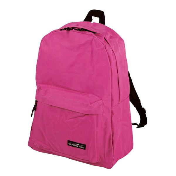 レジャーや通学 ちょっとしたおでかけに 永遠の定番モデル 今季も再入荷 軽くて小型なデイバッグ ワンダー デイバッグ ピンク キャプテンスタッグ アウトドア MT-3201 鞄 バッグ