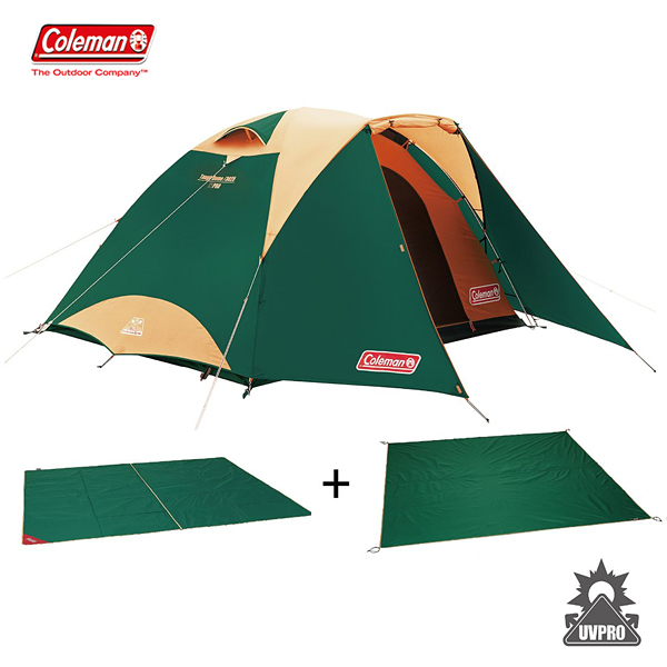 タフドーム/3025 スタートパッケージ(グリーン) 2000027279 コールマン 大型便 テント キャンプ アウトドア 用品