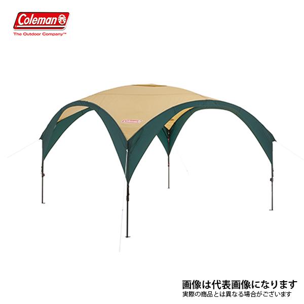 パーティーシェードDX/300 (グリーン/ベージュ) 2000033122 コールマン アウトドア 用品 キャンプ 道具