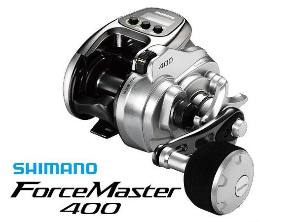 フォースマスター 400 PE1.5号×200m リールに巻いて発送 シマノ 電動リール ライン付き セット