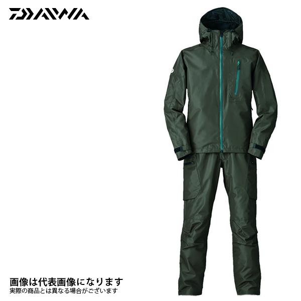 レインマックス ハイパー D3バリアスーツ ダークブラウン XL D3-3105 ダイワ 【処分特価】