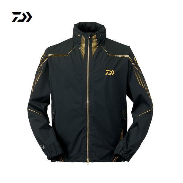 トーナメントゴア ウィンドストッパープロダクトジャケット ブラック 2XL DJ-11009T ダイワ シャツ 釣り フィッシング ウェア