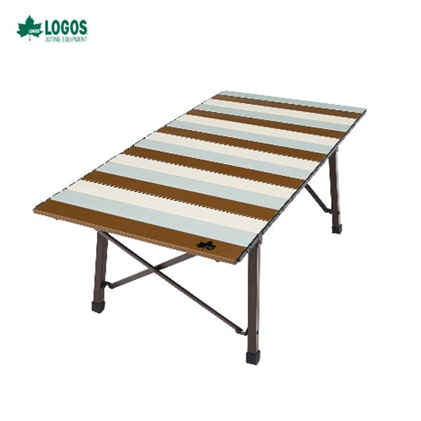 LOGOS LIFE コンパクトローテーブル 10050 ヴィンテージ 73185012 ロゴス テーブル アウトドア キャンプ 用品 道具