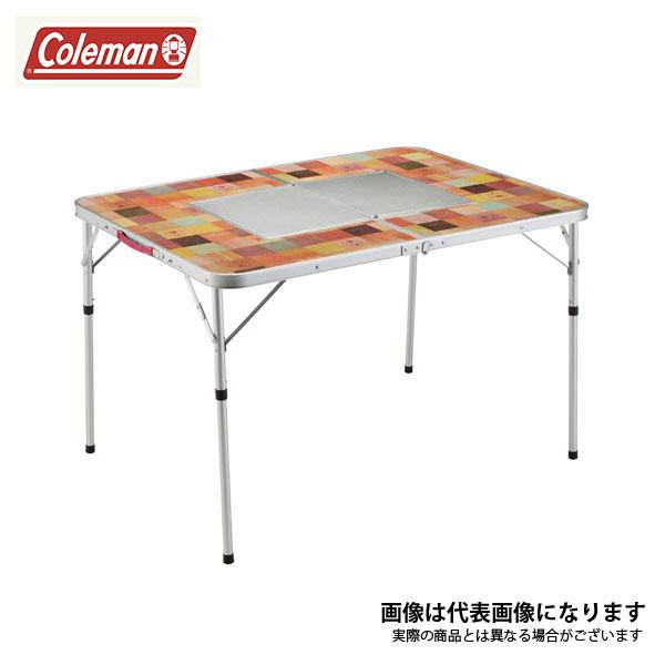 ナチュラルモザイクBBQテーブル/110プラス 2000026760 コールマン テーブル アウトドア キャンプ 用品 道具