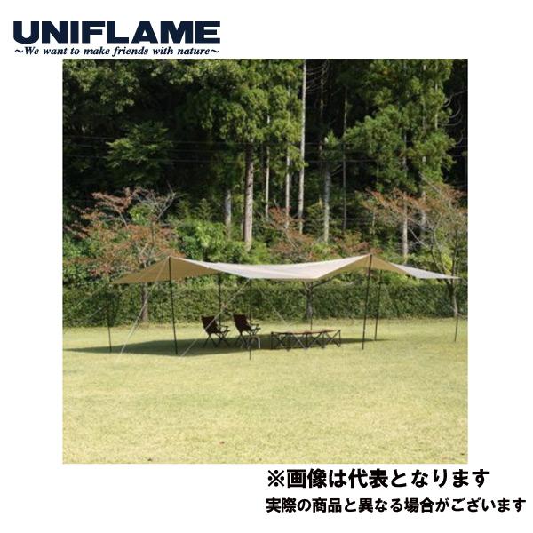UFビックタープ8×6 TAN(2019年限定商品) 693223 ユニフレーム キャンプ アウトドア 用品 テント タープ